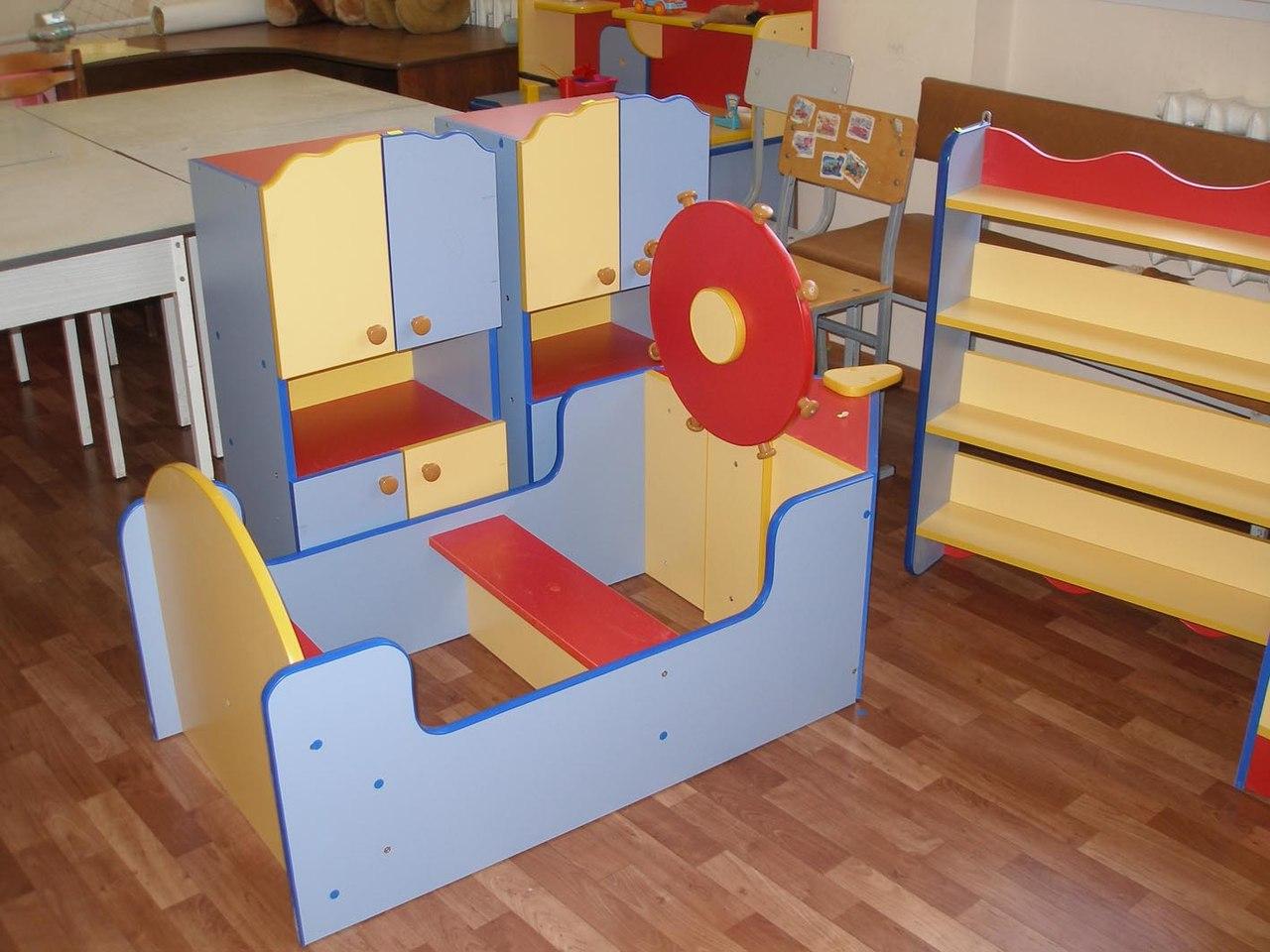 Наши новая мебель и оборудование для игровой Детской городской