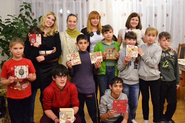 Очередной мастер-класс в Азаровском детском доме